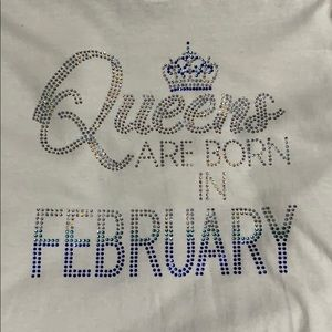 NNW February Birthday Bling tees